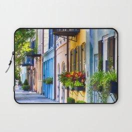 Rainbow Row I Laptop Sleeve