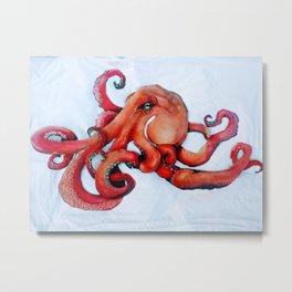 Octopus Metal Art Metal Print