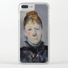 Madame Cézanne Clear iPhone Case