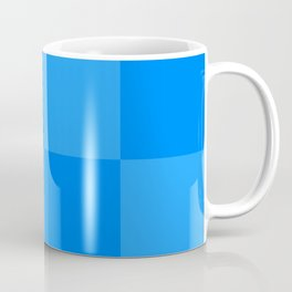 Blue 2 Tone Pattern Coffee Mug
