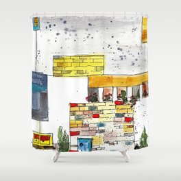 Urban Shower Curtain