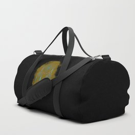 Dreamcatcher Turquoise: Sand background Duffle Bag