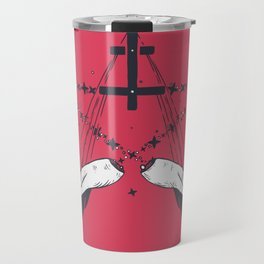 Idle hands are the devil's playthings Travel Mug