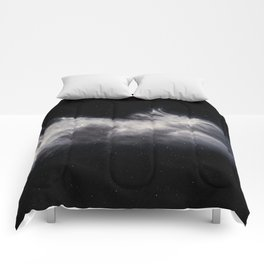 Moon and Clouds Comforters