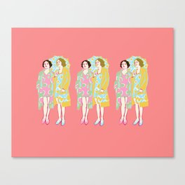 Rose Delaunay Canvas Print