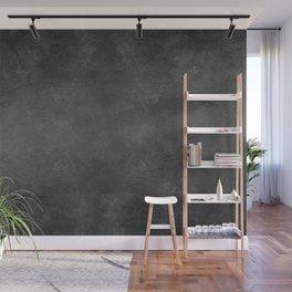 Black Faux Concrete Stone Texture Industrial Art Wall Mural