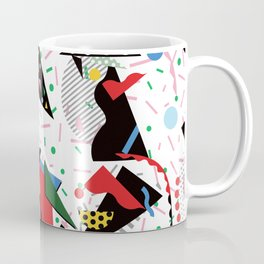 Postmodern Dinner Plates Coffee Mug