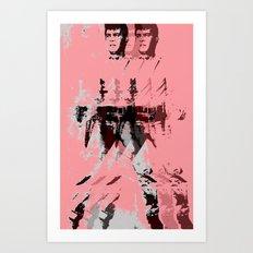 FPJ pastel peach Art Print