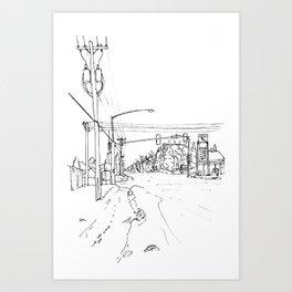 WITH AURORA V (2015) Art Print