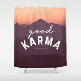 Good Karma Shower Curtain