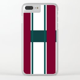 The Ruling Lines Clear iPhone Case