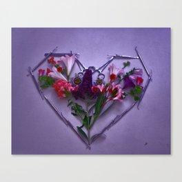 Dental Tool Efflorescence Canvas Print