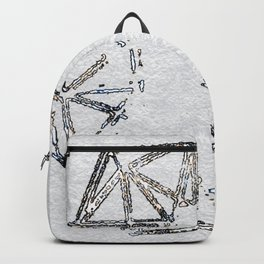 Melted geometry 2 Backpack