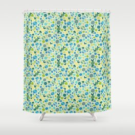 Spring Party Favors Shower Curtain