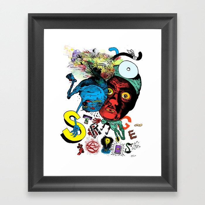 Strangetales Framed Art Print