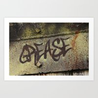 grease Art Prints featuring Grease by Doug McRae