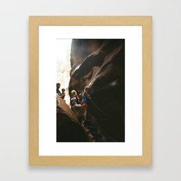 Daunting  Framed Art Print