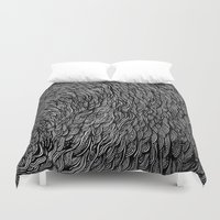 hiphop Duvet Covers featuring Self-titled by Kel Brown