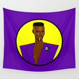 Grace Jones Wall Tapestry