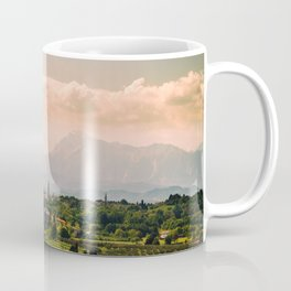sunny spring day in the countryside Coffee Mug