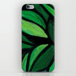 Happy Little Plant iPhone Skin