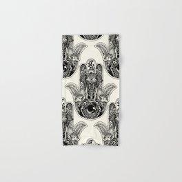 Hamsa Hand Elephant Hand & Bath Towel