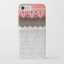 Pink Al Balad Coral House iPhone Case