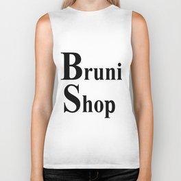 Bruni Shop words Biker Tank