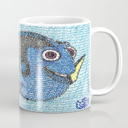 Dory Word Art Coffee Mug