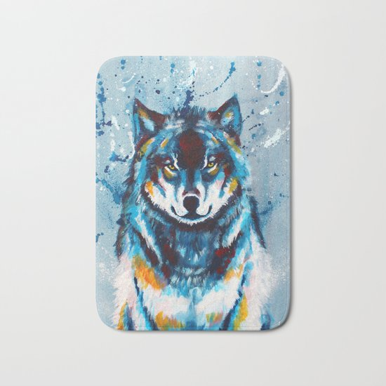 Wise and Wild Bath Mat