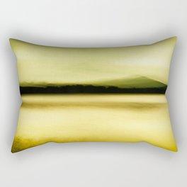 Green Lake Rectangular Pillow
