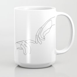 Finger touch Coffee Mug
