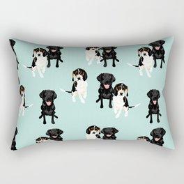 Jasper and Bella Pattern Rectangular Pillow