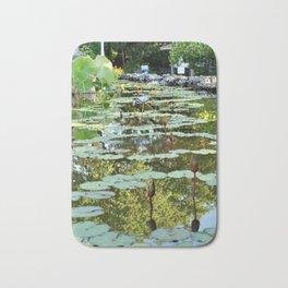 Lily Pad Circles Bath Mat