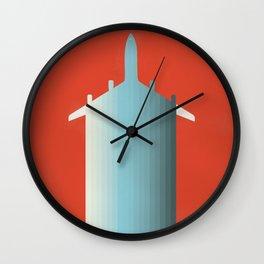 BLU PLN Wall Clock
