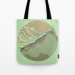 TOPOGRAPHY 001 Tote Bag