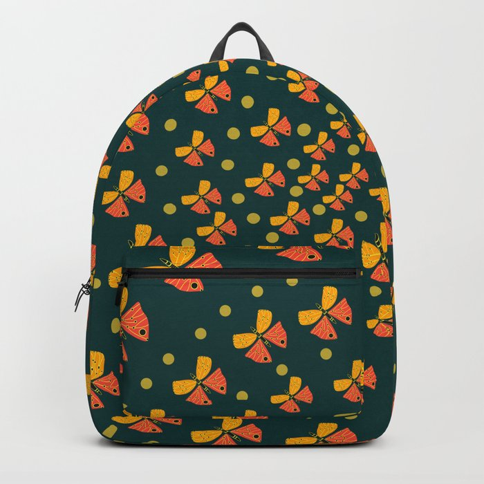 Butterflies in spiral Backpack