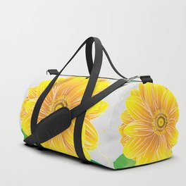 Helianthus - The Color of Vitality, Intelligence and Happiness Duffle Bag