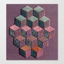 Tumbling Blocks #6 Canvas Print