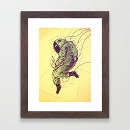 Green Mission Framed Art Print