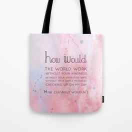 How would Tote Bag