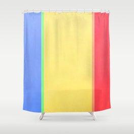 Calmer Colorz Shower Curtain