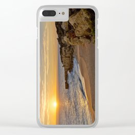 Algarve sunset, Portugal Clear iPhone Case
