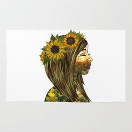 Sunflower Rug