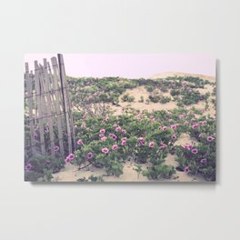 Mornings at the Beach Metal Print
