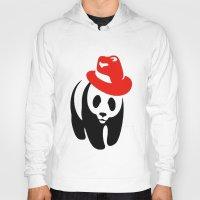 panda Hoodies featuring Panda by ArtSchool