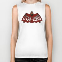 star lord Biker Tanks featuring Star Lord logo by Buby87