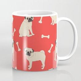 Just pugs pattern Coffee Mug