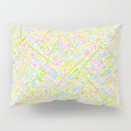 Pick Up Sticks and Patches Pillow Sham