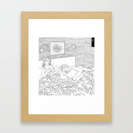 Coloring for Real Grownups. Late Night Framed Art Print